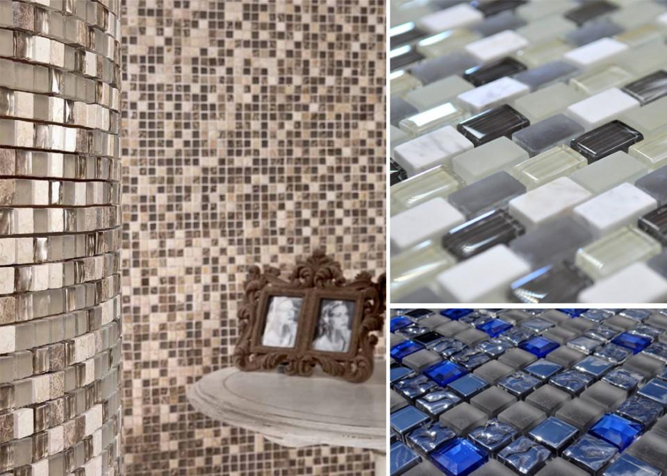 Мрамор и стекло — лучшие материалы для создания мозаики
