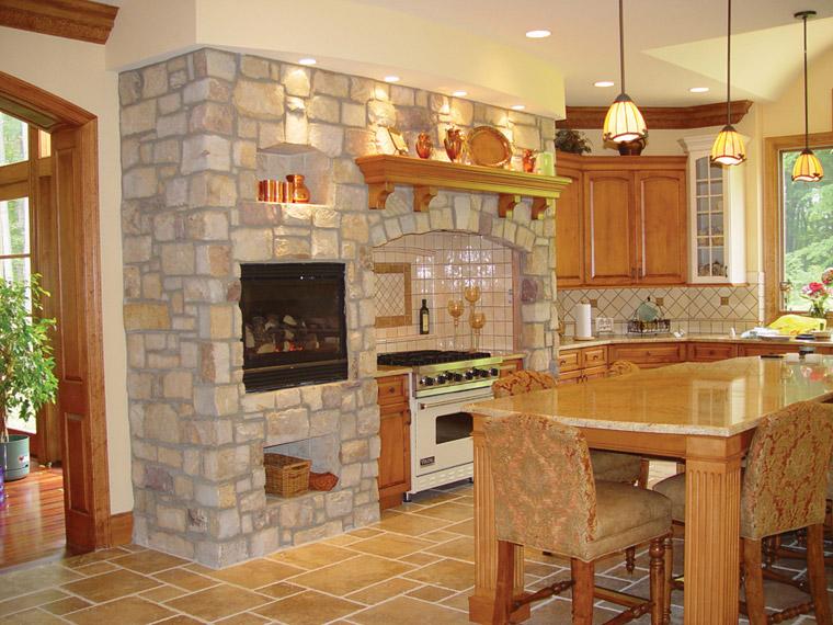 Преображаем кухню с помощью декоративного камня