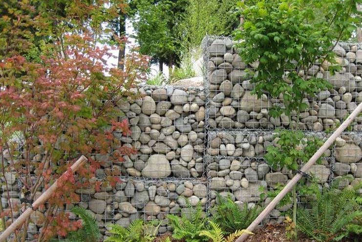 казалось, декоративный забор из камней на даче фото данном сайте можете