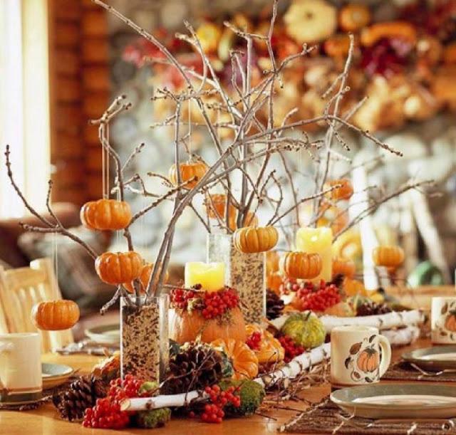 Осенний декор интерьера: интересные идеи от дизайнера